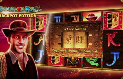 Book of Ra Deluxe Jackpot Edition slot machine