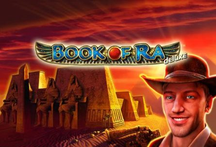 Book of Ra Deluxe slot machine by Novomatic