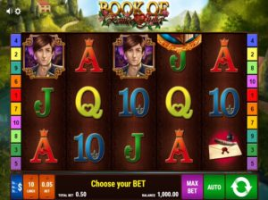 Book of Romeo and Julia online slot machine