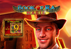 Book of Ra Magic Online slots