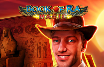 Book of  Ra Magic online with 10 free spins + up to 9 Symbols