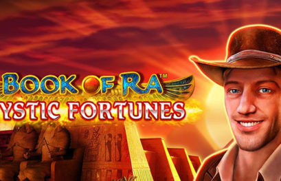 Book of Ra Mystic Fortunes slot machine with 4 Jackpots