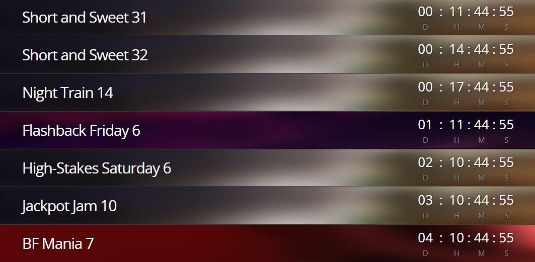 Daily Slot Tournaments