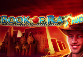 Book of Ra XPAND slot machine with extra XPANDing symbols