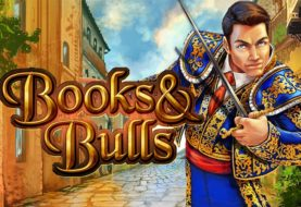 Books & Bulls slot machine with 2 bonus rounds