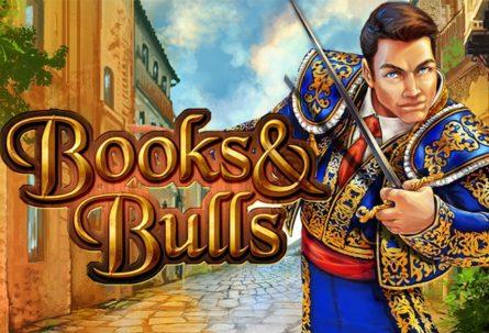Books & Bulls slot machine with 2 bonus rounds