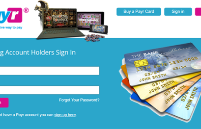 Credit Cards Casino Deposit with the help of Payr
