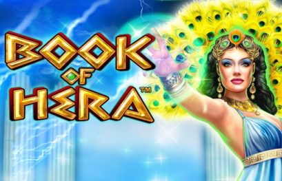 Book of Hera slot machine with 10 free spins