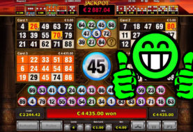 Book of Ra Deluxe Bingo Big Win on only €4 bet: €4,435!