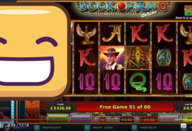 Book of Ra Deluxe 6 Big win with 60 free spins