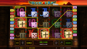 Book of Ra Dice free spins bonus