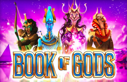 Book of Gods slot machine with 243 ways