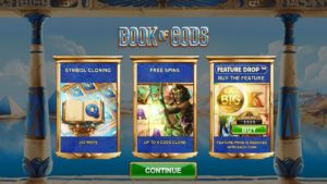 Book of Gods slot machine online game