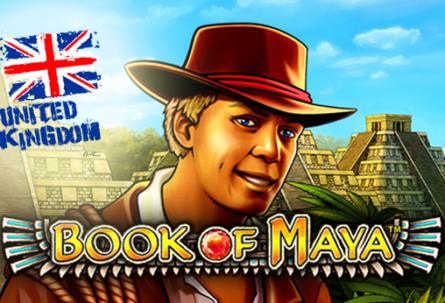Book of Maya Slot UK