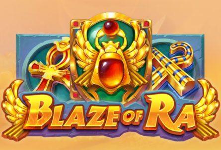 Blaze of Ra slot machine