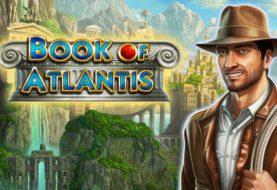 Book of Atlantis slot machine with double symbols
