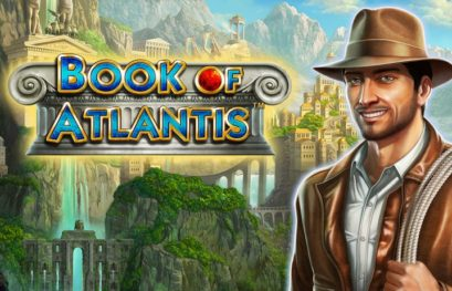 Book of Atlantis slot machine with double symbols