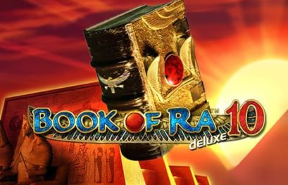 Play Book of Ra Deluxe 10 slot with 100 win lines