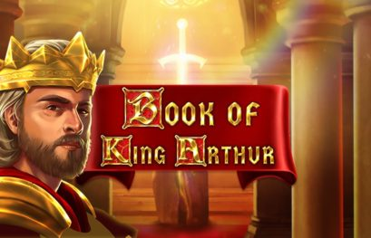 Book of King Arthur slot machine with buy free spins
